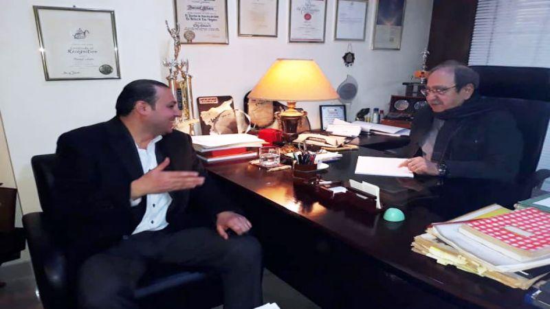 """الفنان الكبير دريد لحام لـ""""العهد"""": الجولان سيعود بالمقاومة.. وقراري بخصوص كاليفورنيا أكثر قانونية من قرار ترامب"""
