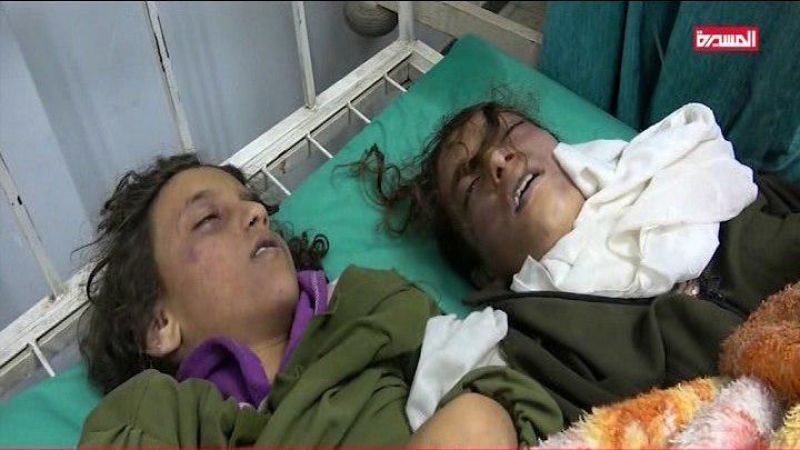 مجزرة سعوان في اليمن: 109 ضحايا بينهم 13 طالبة شهيدة