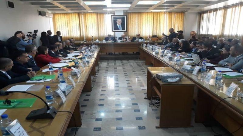 """اللقيس يبشّر اللبنانيين عبر موقع """"العهد"""" بعلاقات اقتصادية مزدهرة مع سوريا"""