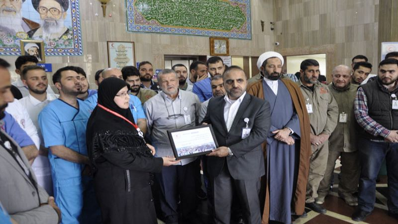بالصور .. تبرعات من أهل الوفاء للمنكوبين في ايران