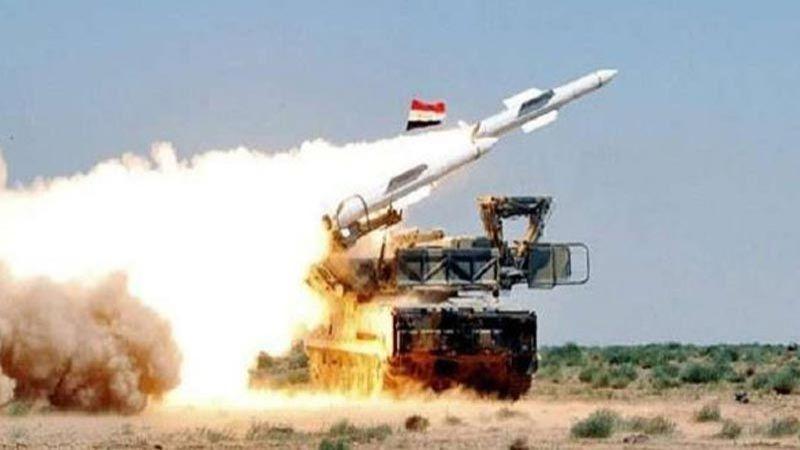 الدفاعات الجوية السورية تتصدى لعدوان صهيوني في مصياف بريف حماة