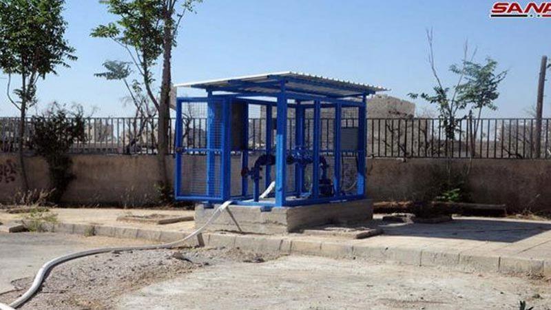 تأهيل آبار وخزانات مياه الشرب في الغوطة الشرقية