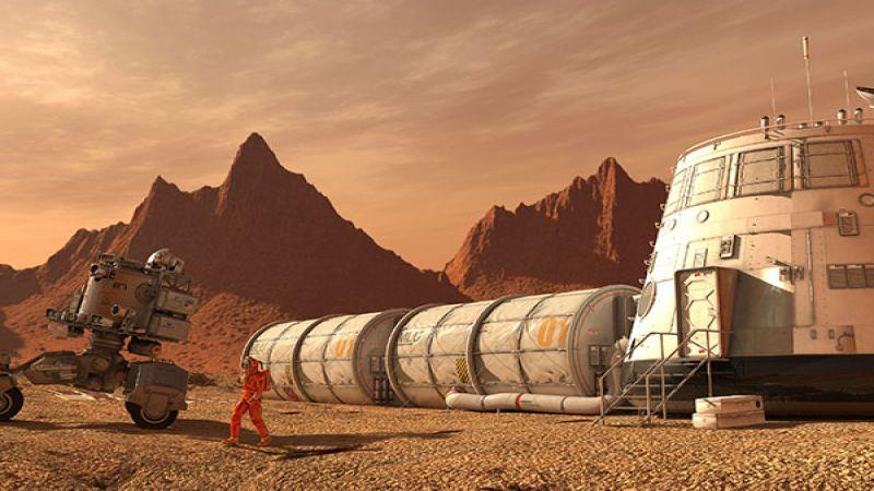 """حتى كوكب المريخ """"صنع في الصين""""! (فيديو)"""