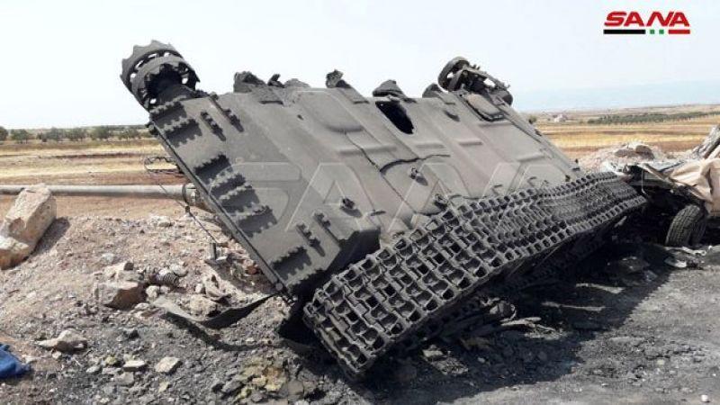 الجيش السوري يسيطر على كفر عين وخربة مرشد والمنطار وتل عاس بريف إدلب الجنوبي