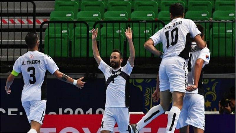 بنك بيروت يودع بطولة آسيا لكرة الصالات