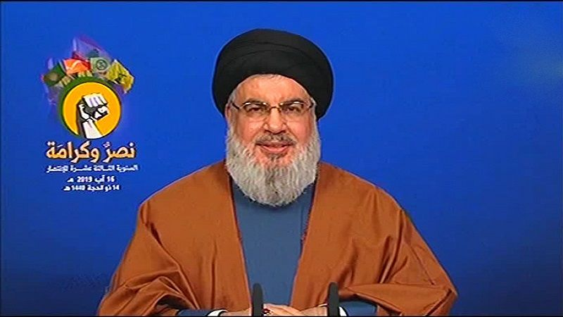 """السيد نصر الله: بثّ مباشر لتدمير الفرق """"الإسرائيلية"""" في أي حرب مقبلة"""