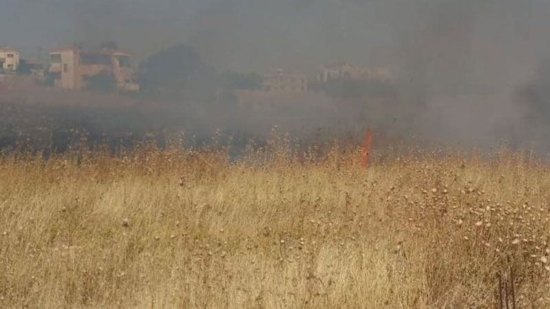 عدوان صهيوني على قرى مرجعيون ومواد اسرائيلية حارقة تسمّم أراضي زراعية