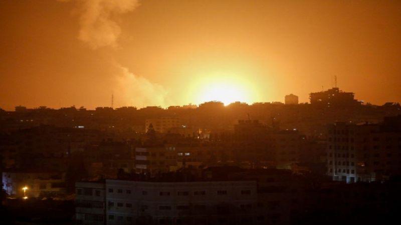 طائرات الاحتلال تقصف موقعا للمقاومة وأراضيَ زراعية في غزة
