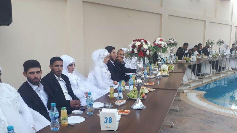 برعاية الأمين العام لحزب الله.. عرس جماعي في الهرمل