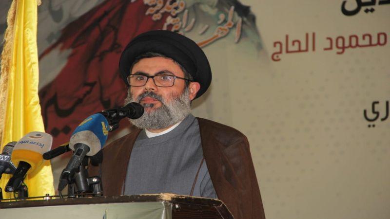 """السيد صفي الدين: محور المقاومة قوي موحد متماسك ومحور أمريكا والسعودية و""""إسرائيل"""" هو محور الخيبات المتتالية"""