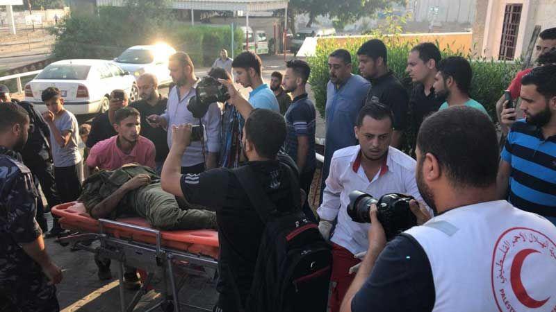ثلاثة شهداء فلسطينيين وجريح بقصف صهيوني على شمال قطاع غزة