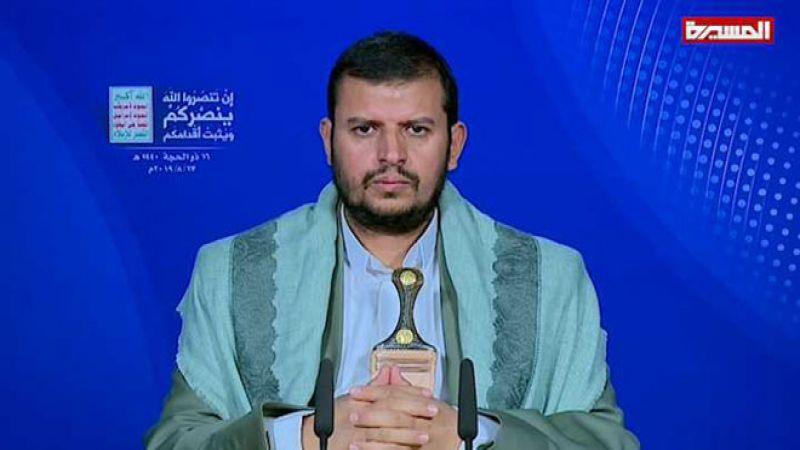 السيد الحوثي: من حق الشعب اليمني الرد على جرائم العدوان السعودي
