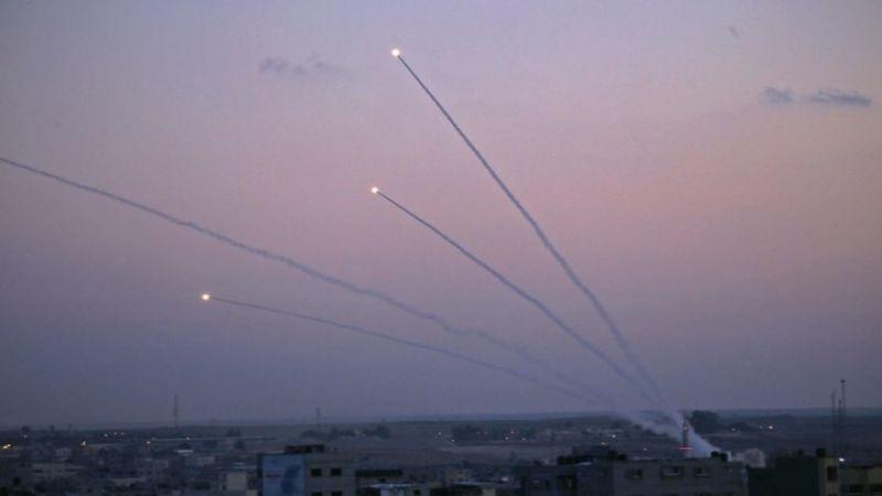 العدو يتحضّر لاستمرار إطلاق القذائف الصاروخية من غزة