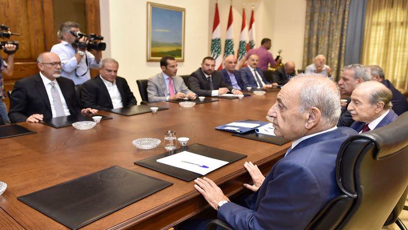 بري: بعد لقاء المصالحة يجب تزخيم العمل الحكومي بكل الملفات