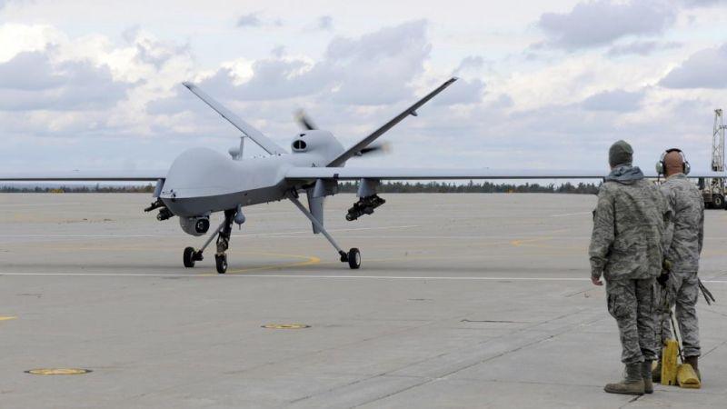 الدفاعات اليمنية تُسقط طائرة تجسّس أمريكية تصل قيمتها الى 30 مليون دولار