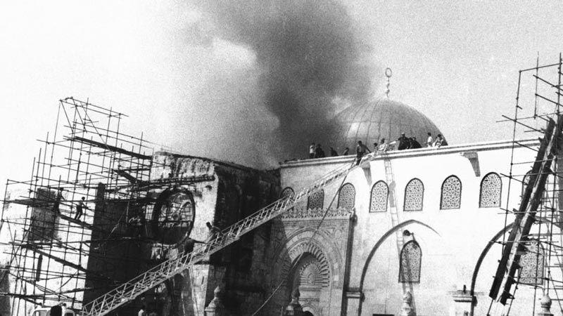 في الذكرى الـ 50 على حرق المسجد الأقصى.. العدو يواصل تهويده للقدس