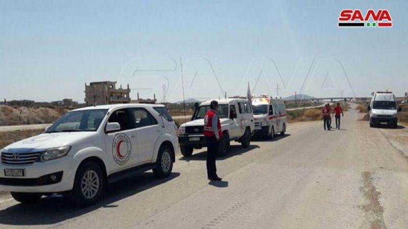 بحماية الجيش السوري.. فتح معبر إنساني في صوران لخروج المواطنين من مناطق سيطرة الإرهابيين