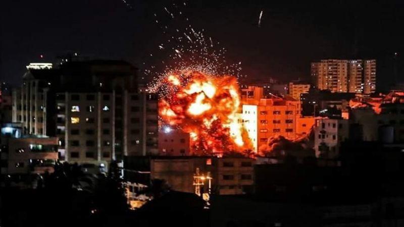 طائرات الاحتلال تقصف موقعًا للمقاومة في غزة