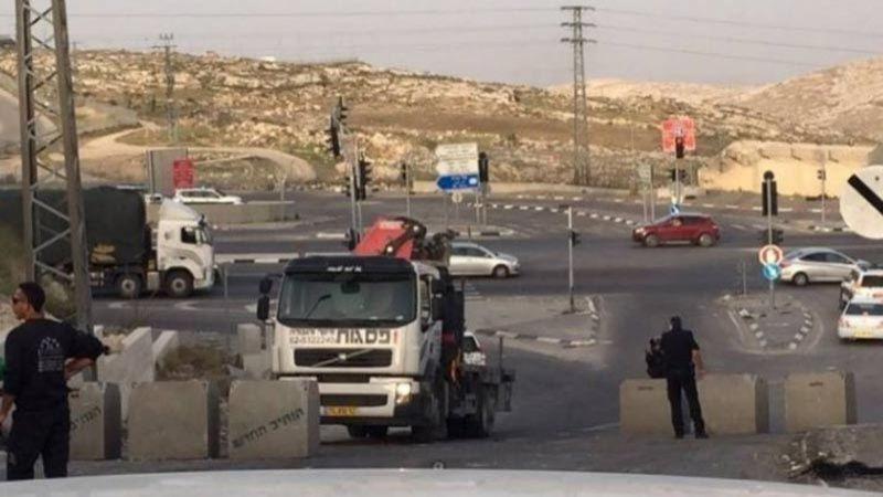الاحتلال يُغلق طرق في رام الله والبيرة