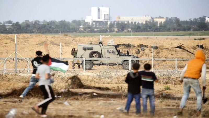 """جمعة """"لبيك يا أقصى"""": اصابة عشرات الفلسطينيين برصاص الاحتلال شرق قطاع غزة"""