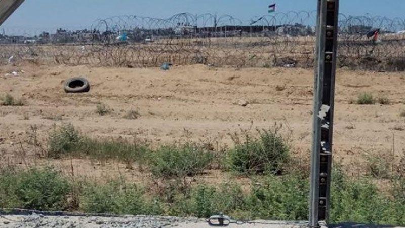 اصابة فلسطيني برصاص الاحتلال شرق غزة