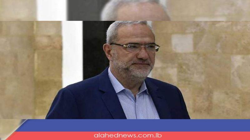 """الوزير قماطي من دمشق لـ""""العهد"""" : لن نسمح لـ""""إسرائيل"""" بتغيير معادلة الردع التي أثبتناها بدمائنا"""