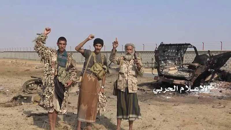 الجيش اليمني واللجان يفشلون أكبر هجوم لقوى العدوان باتجاه مواقعهم في حرض