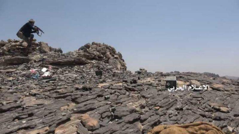 مواقع لمرتزقة السعودية في عسير تحت سيطرة الجيش اليمني