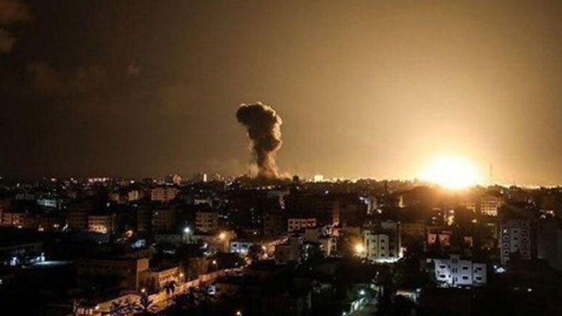 الاحتلال يقصف مواقع للمقاومة الفلسطينية في غزة