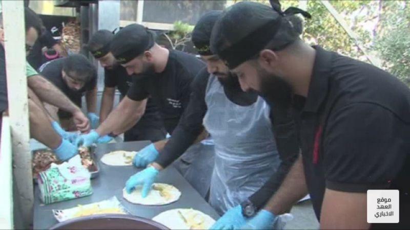 تزايد موائد الطعام على حب الإمام الحسين (ع)