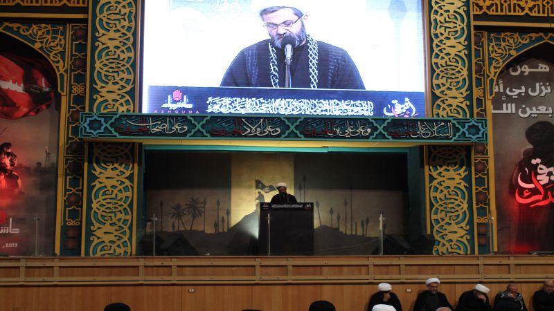 قراءة المصرع الحسيني في مجمع سيد الشهداء(ع) ـ مصور