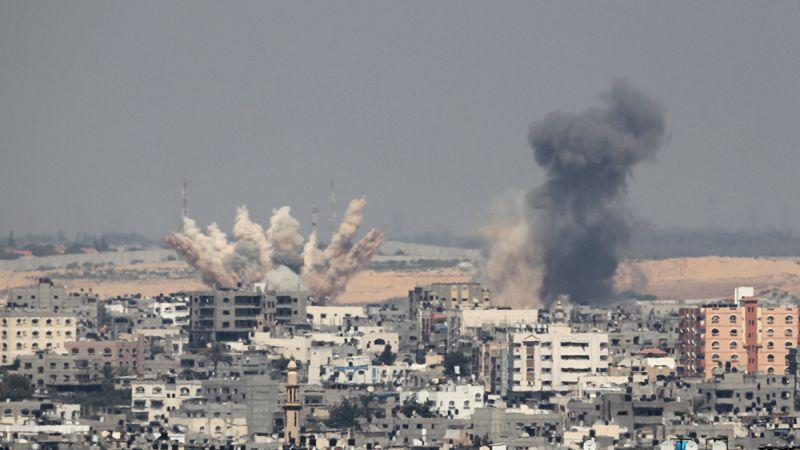 طائرات العدو تقصف مواقع للمقاومة الفلسطينية في غزة