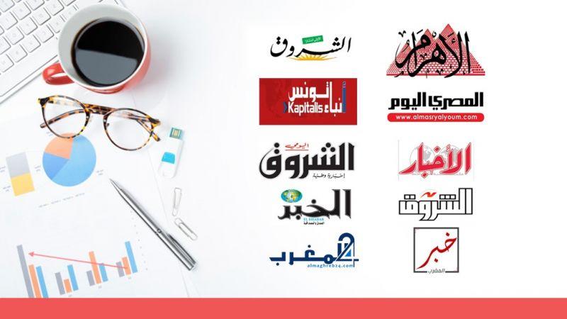 هي أبرز اهتمامات صحف مصر والمغرب العربي؟