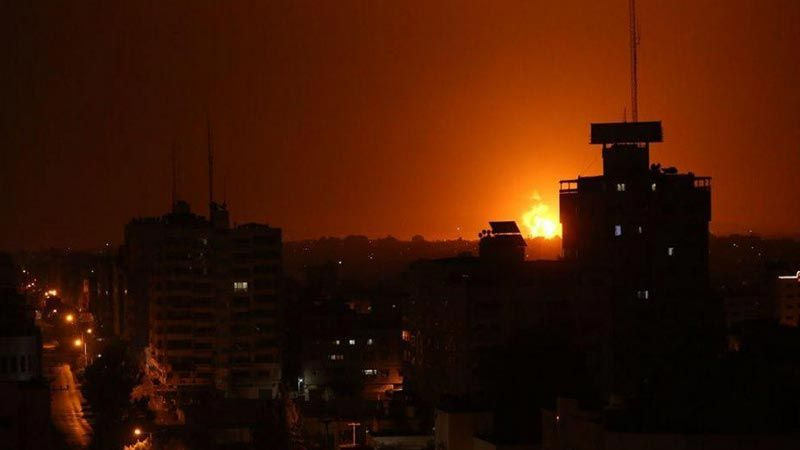 """الاحتلال يستهدف موقعًا لــ """"القسام"""" شمال غزة ويواصل اعتقالاته بحقّ الفلسطينيين"""