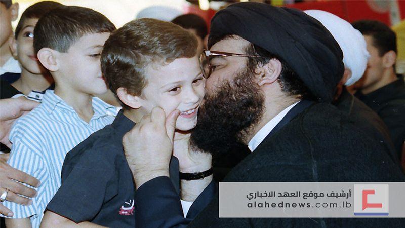 """""""نحن لا نوفر أولادنا للمستقبل"""".. بعضٌ من مشاهد تقبل التبريكات بشهادة السيد هادي"""