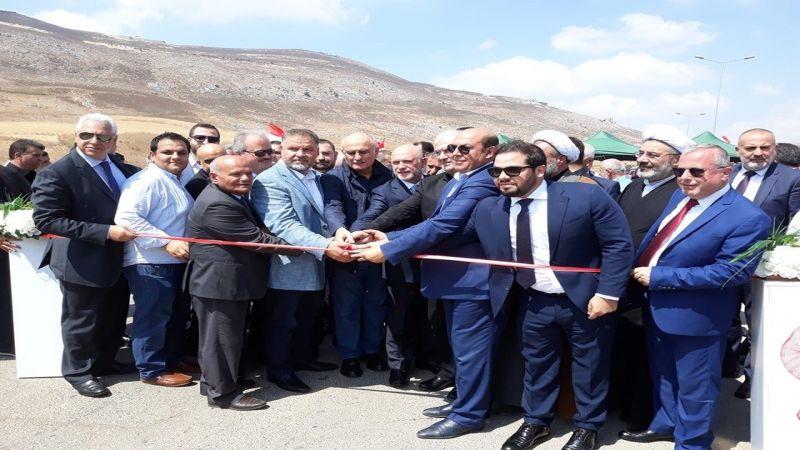 افتتاح أوتوستراد الإمام الصدر .. يربط الجنوب بطريق الشام الدولية