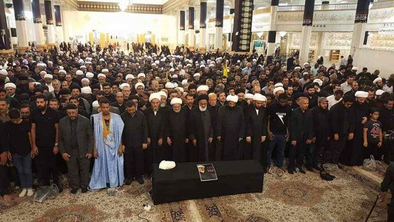 بالفيديو .. تشييع الشيخ حسين كوراني إلى مثواه الأخير في قم المقدسة
