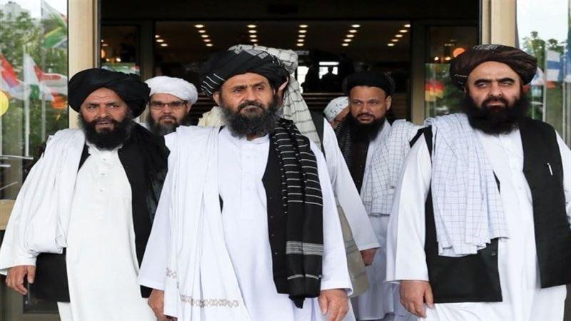 """وفد من """"طالبان"""" في إيران"""