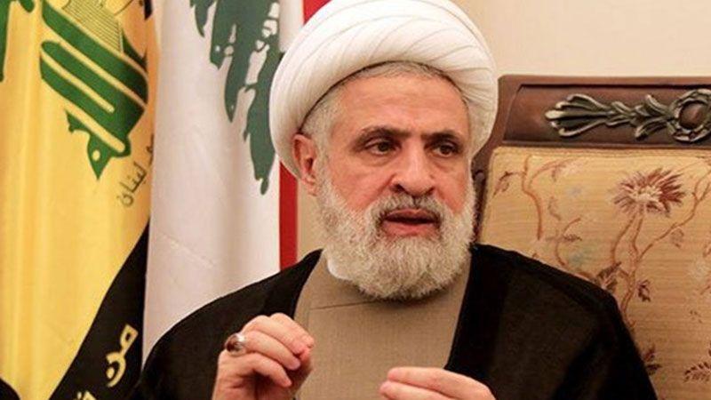 الشيخ قاسم: العقوبات الاميركية لن تؤثر على حزب الله