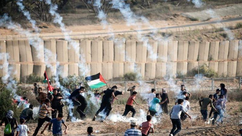 """إصابة عشرات الفلسطينيين في """"جمعة مخيمات لبنان"""""""