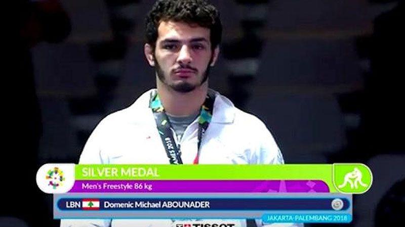 المصارع اللبناني دومينيك أبي نادر ينسحب من بطولة العالم رفضًا للتطبيع
