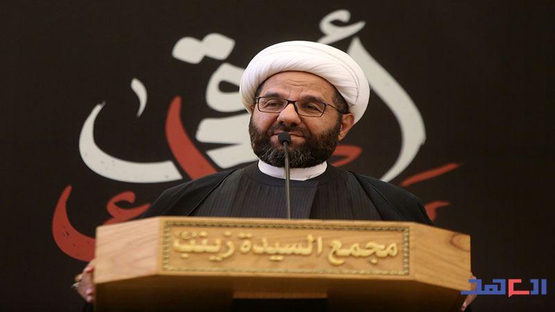 """الشيخ دعموش لـ""""العهد"""": حزب الله كربلائي الهوية والشهادة"""
