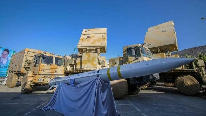 """لأول مرة.. إيران تعرض منظومة """"باور 373"""" للدفاع الجوي في أسبوع الدفاع المقدس"""