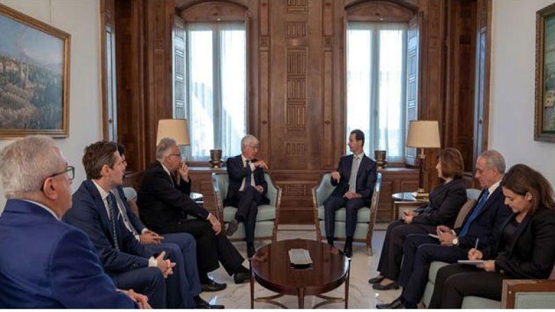 الأسد يستقبل وفدًا إيطاليًا: موقف معظم الدول الأوروبية حول ما جرى في سوريا لم يكن ذا صلة بالواقع