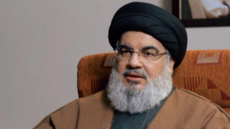 """السيد نصر الله: ايران فقأت عين أميركا و""""اسرائيل"""" في المنطقة"""