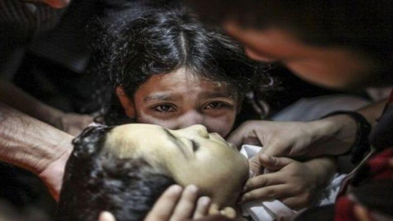 استشهاد 7 يمنيين من أسرة واحدة في غارات لطائرات العدوان على عمران