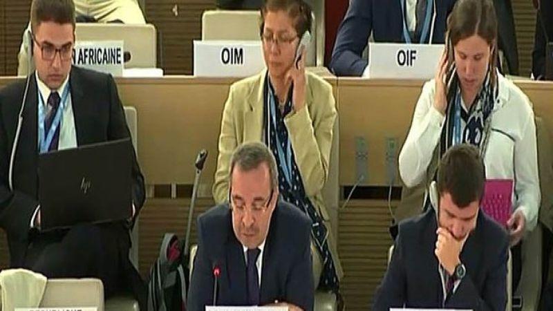 """حسام الدين آلا: سورية تؤكد ضرورة اتخاذ إجراءات جدية لمحاسبة """"اسرائيل"""" على جرائمها"""
