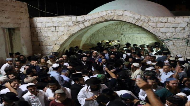 """أكثر من  1200 مستوطنٍ يقتحمون """"قبر يوسف"""" والاحتلال يعتقل 19 فلسطينيًا بالضفة"""