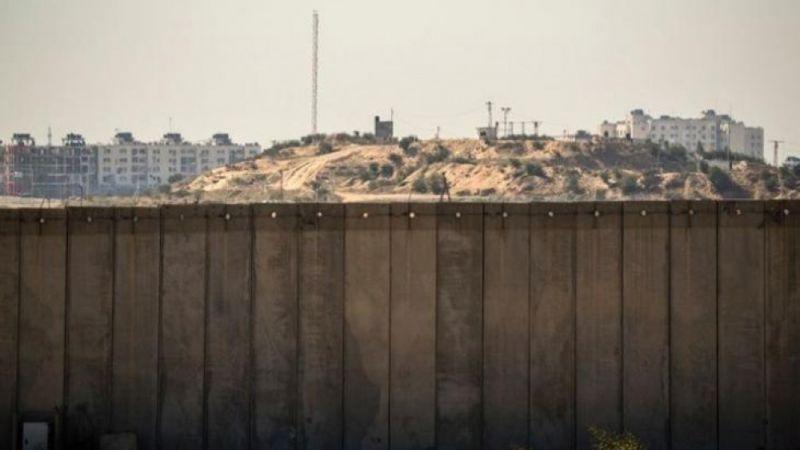 """""""الجدار الأمني"""" على حدود غزة: أكبر مشاريع العدو خوفًا من رعب الأنفاق"""