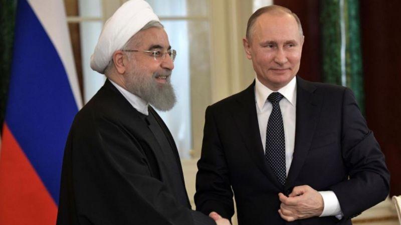 بوتين وروحاني يبحثان الوضع في سوريا والاتفاق النووي